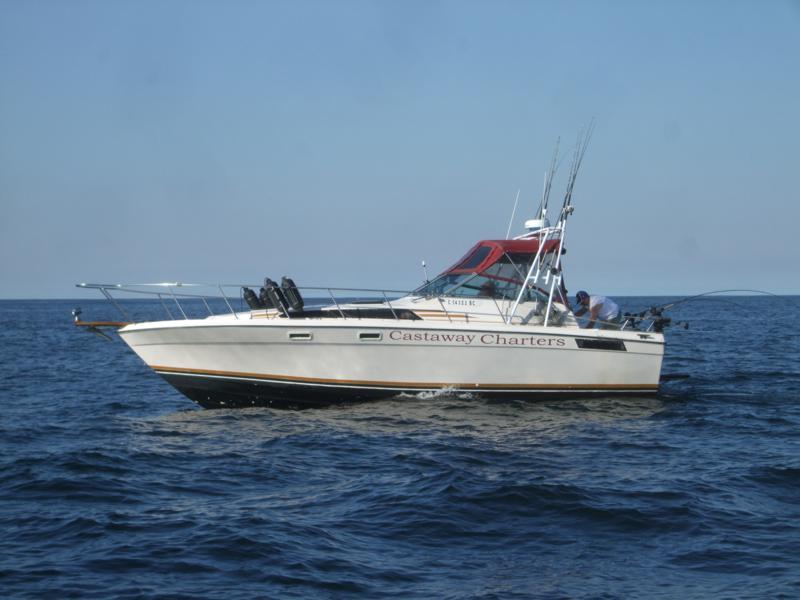 Castaway Charter fisning boat at sea