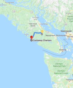 Castaway Fishing Charters Map